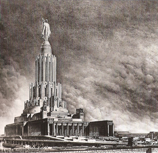 Moscow Palace of Soviets 5