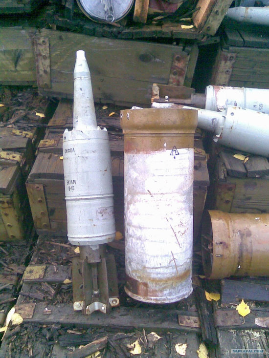 Storage and transportation of ammunition in Russian army view 5