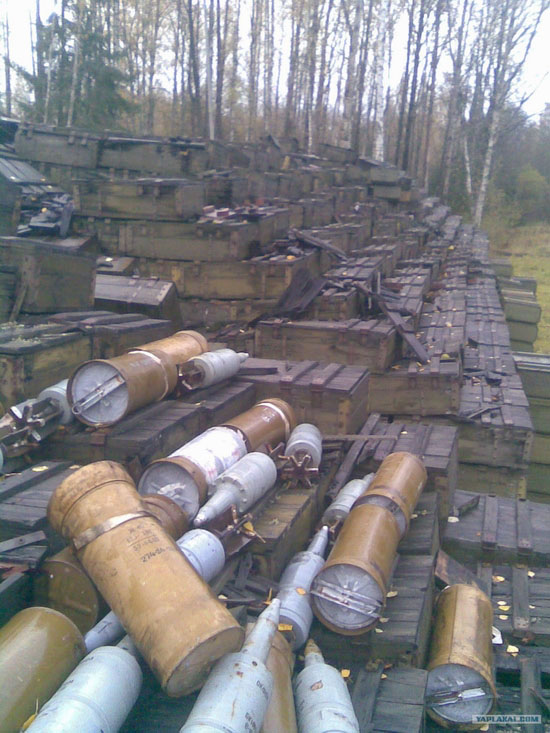 Storage and transportation of ammunition in Russian army view 6