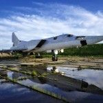 Abandoned airbase of heavy bombers in Primorye