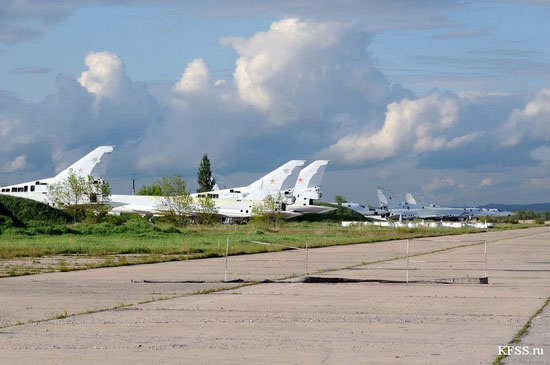 Vozdvizhenka - abandoned air base in Prymorye, Russia view 10
