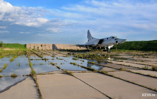 Vozdvizhenka - abandoned air base in Prymorye, Russia view 7