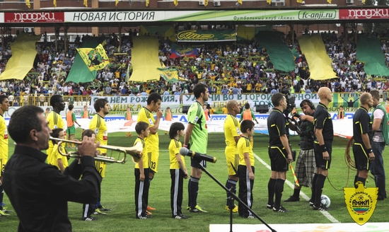 Anzhi Makhachkala football club - before the match