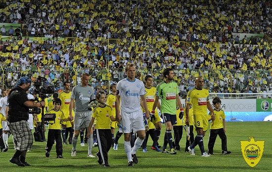 Anzhi Makhachkala football club - ready to win!