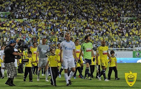 Anzhi Makhachkala football club - ready to win!