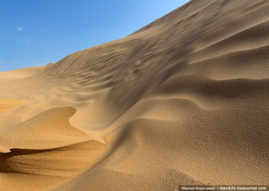 Big Brother - One of the highest sand dunes in Astrakhan oblast, Russia view 6