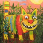 Hallucinogenic cats and other mad paintings of Vasya Lozhkin