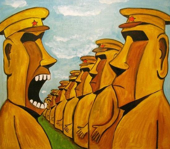 Russian artist Vasya Lozhkin painting 13