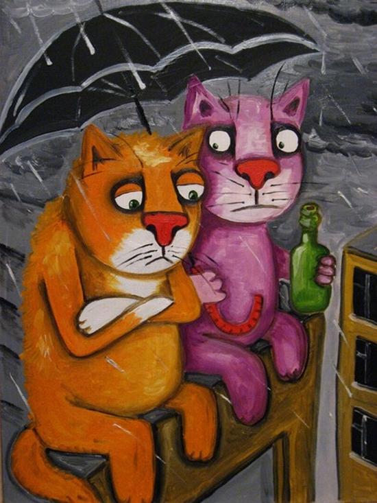Russian artist Vasya Lozhkin painting 17