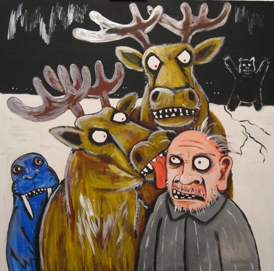 Russian artist Vasya Lozhkin painting 18