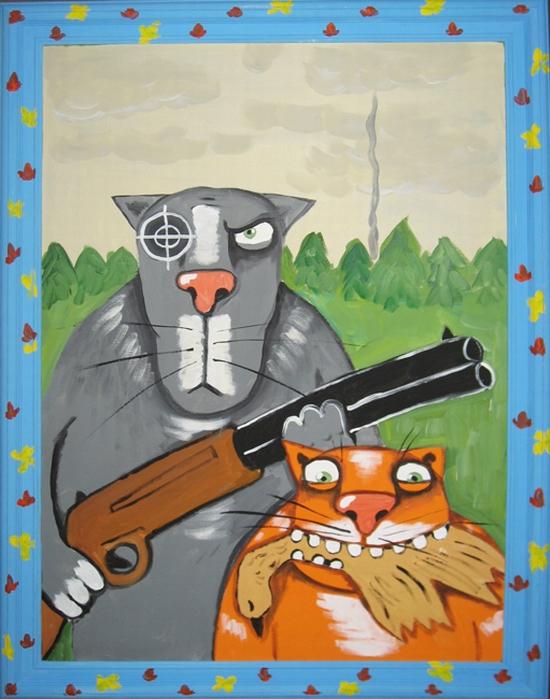 Russian artist Vasya Lozhkin painting 20