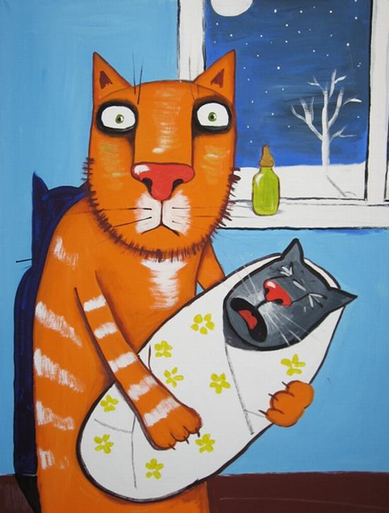 Russian artist Vasya Lozhkin painting 22