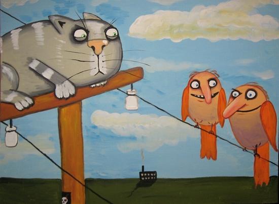 Russian artist Vasya Lozhkin painting 4