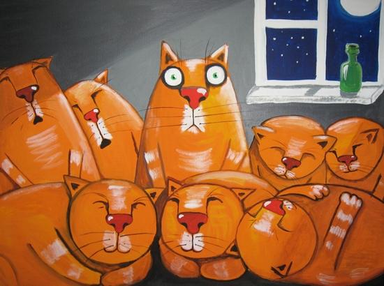 Russian artist Vasya Lozhkin painting 5