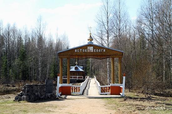Volga River source, Russia view 1