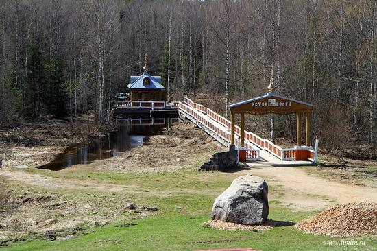 Volga River source, Russia view 12