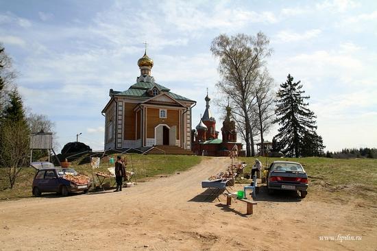 Volga River source, Russia view 3