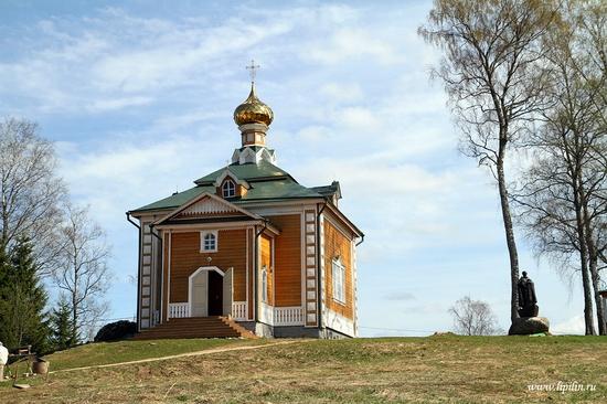 Volga River source, Russia view 4