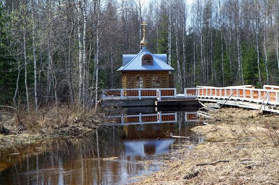 Volga River source, Russia view 8