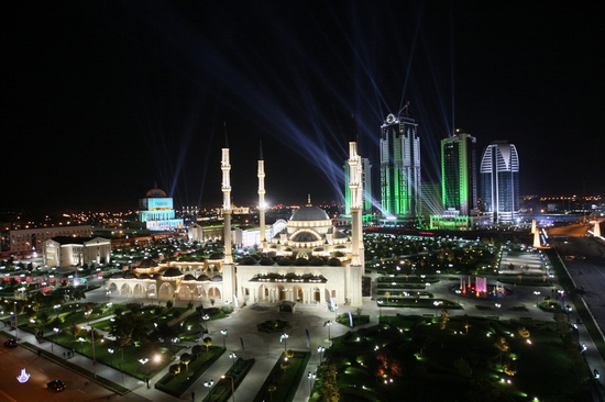 Grozny City day celebration 1