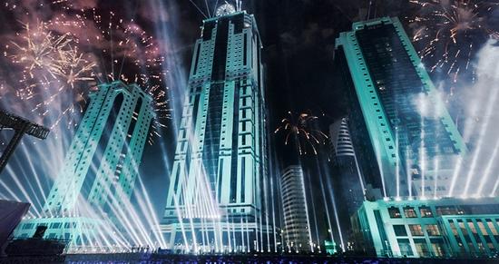 Grozny City day celebration 2