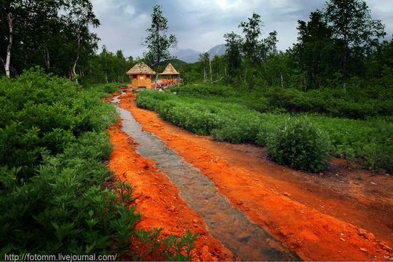 Natural park Nalychevo, Kamchatka peninsula, Russia view 9