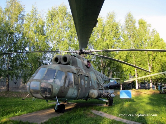 Soviet helicopters museum in Torzhok, Russia - Mi-8T
