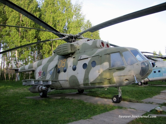 Soviet helicopters museum in Torzhok, Russia - Mi-18