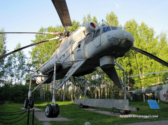 Soviet helicopters museum in Torzhok, Russia - Mi-10