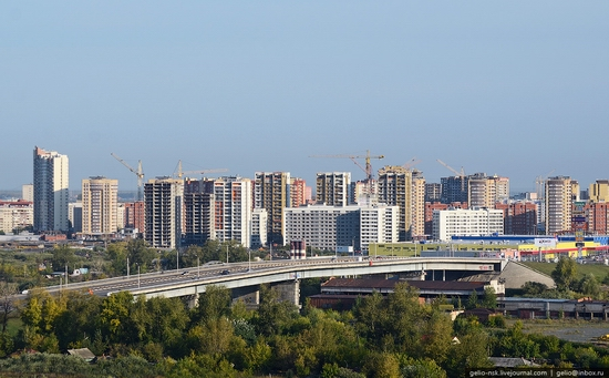 Tyumen, Russia view from the city's tallest building 10