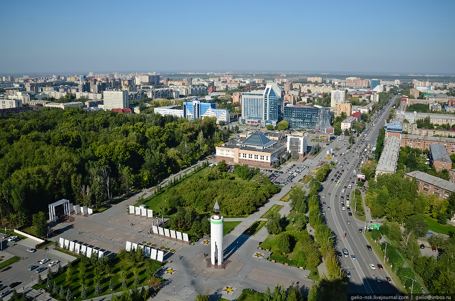 Following pictures were captured from the tallest building in tyumen