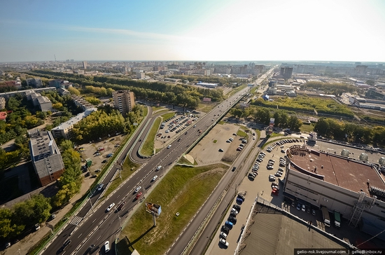 Tyumen, Russia view from the city's tallest building 5