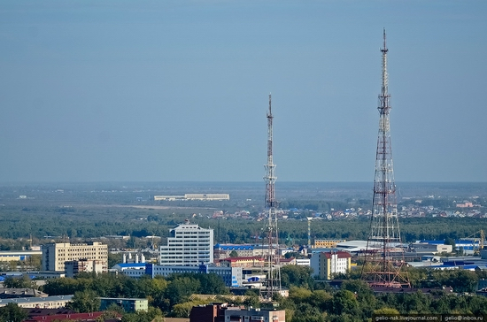 Tyumen, Russia view from the city's tallest building 8