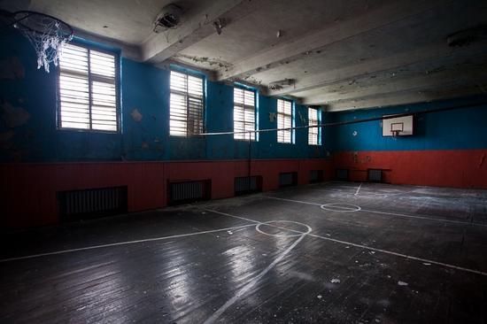 Abandoned school, Teriberka, Kola Peninsula, Russia view 21