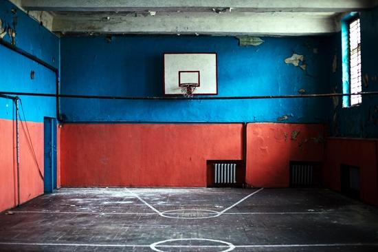 Abandoned school, Teriberka, Kola Peninsula, Russia view 22