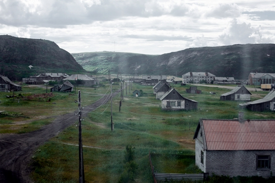 Abandoned school, Teriberka, Kola Peninsula, Russia view 24