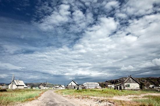 Abandoned school, Teriberka, Kola Peninsula, Russia view 25
