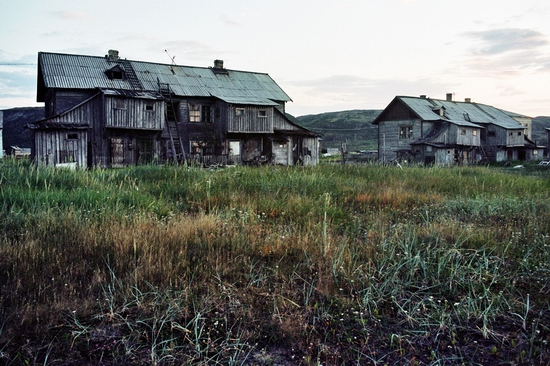 Abandoned school, Teriberka, Kola Peninsula, Russia view 26