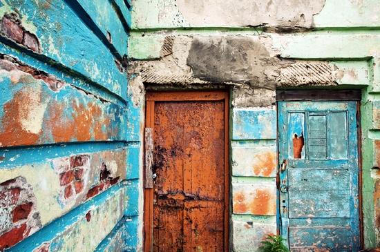 Abandoned school, Teriberka, Kola Peninsula, Russia view 3