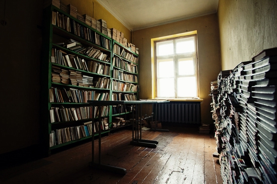 Abandoned school, Teriberka, Kola Peninsula, Russia view 6