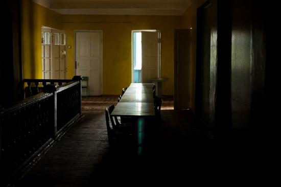 Abandoned school, Teriberka, Kola Peninsula, Russia view 7