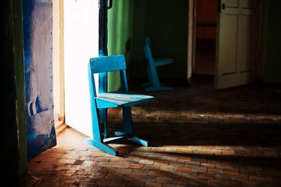 Abandoned school, Teriberka, Kola Peninsula, Russia view 9