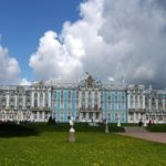 Magnificent palace of Empress Catherine