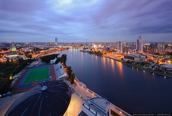Ekaterinburg city, Russia view 10