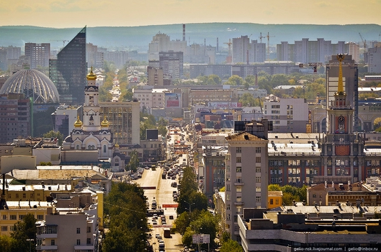 Ekaterinburg city, Russia view 23
