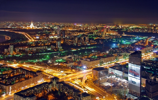 Moscow, Russia tallest building view 10