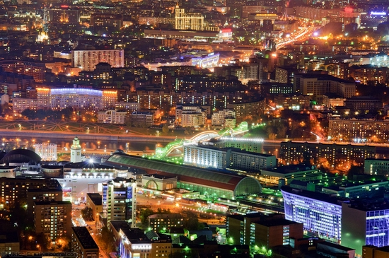 Moscow, Russia tallest building view 8