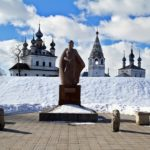 Architectural monuments of ancient town Yuriev-Polskiy