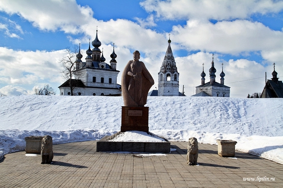 Yuriev-Polskiy town, Vladimir oblast, Russia view 1