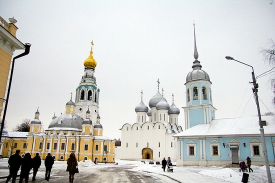 Vologda city Kremlin Square view 2
